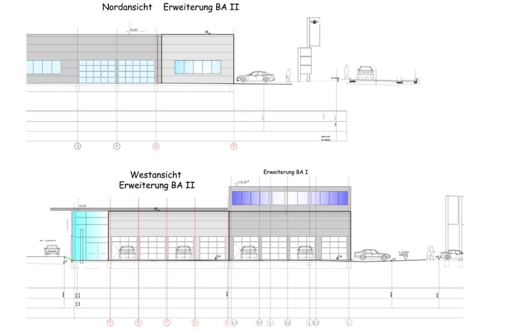 Gottstein Binzen Werkstattanbau
