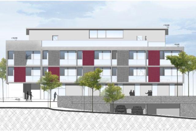 Alpenblick Neubau Apartmenthaus